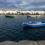 Mount Vesuvius across the Bay of Naples ?