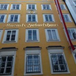Mozart's birthplace from the outside ?