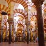 The columns of the Mosque-cathedral of Córdoba ?