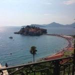 The islet of Sveti Stefan ?