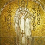 A Byzantine mosaic of John Chrysostom from the Hagia Sophia ?