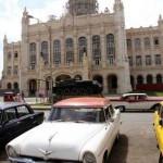 Museum of the Revolution, Soviet tank, American car ?