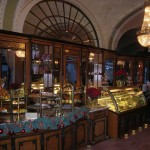 A Dobos torte at the Café Gerbeaud in Budapest ?