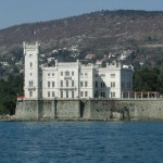 Miramare Castle, from the bay of Grignano ?