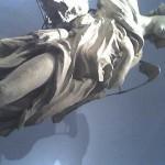 Preparatory model of a Bernini's angel in the Pinacoteca Vaticana ?