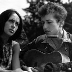 Joan Baez and Bob Dylan singing together at the March on Washington ?