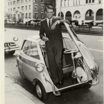 Cary Grant driving a BMW Isetta 300 in Munich ?