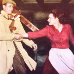 John Wayne holding Maureen O'Hara's arm in The Quiet Man ?