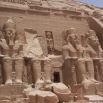 The four colossal statues of the Great Temple at Abu Simbel ?